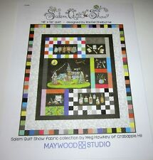 SALEM QUILT SHOW Pieced QUILT KIT with 31 cuts of 100% Cotton Fabric and Pattern