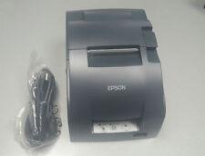 Epson Tm U220b Kitchen Receipt Pos Printer Network Interface With Power Supply