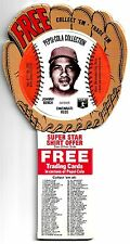*1977 Johnny Bench*Pepsi-Cola Collection*Still in Glove Edition*Free Shipping*