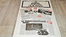 LE TROU NOIR the black hole !  affiche cinema  1979  modele rare