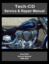 Yamaha Road Star Service & Repair Manual Roadstar Silverado S Midnight 1999-2007