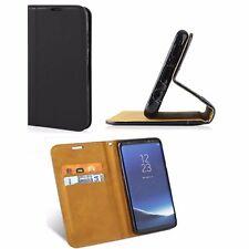 ^ Tasche Schutz SMART MAGNET Elegance Cover Etui Motorola Moto Z2 Play SCHWARZ