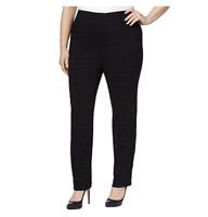 Charter Club Plus Size Flocked Dot-Print Pants, Size 14W, Retail $79.50