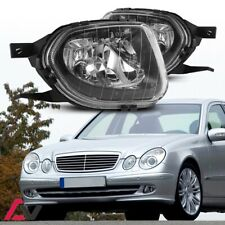 03-06 For Mercedes Benz W211 Clear Lens Pair Bumper Fog Light OE Replacement DOT