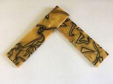 """Kirinite: oro líquido 1/8"""" escalas de 6"""" X 1.5"""" para madera, cuchillo haciendo en funcionamiento"""
