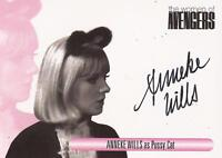 "The Women of Avengers : WAAW Anneke Wills ""Pussy Cat"" Auto/ Autograph Card"
