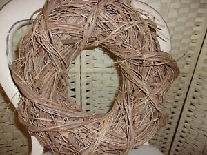 Dried olive branch wreath - Med.