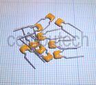 6,8pF 100V condensatore ceramico multistarto MLCC Capacitors passo 5mm 10 pezzi