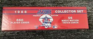 1988 Score Baseball Cards Complete Set Factory Box Sealed - Unopened - New