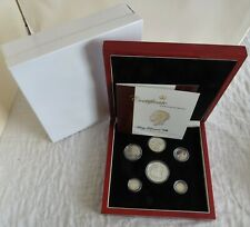 More details for 1936 edward viii new strike 6 coin silver proof pattern set