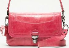 New with tags Coach 18160 Poppy Leather Layla shoulder crossbody bag