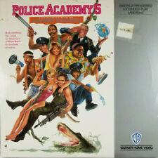Police Academy 5 1988 Comedy Laserdisc Movie Video - Bubba Smith Michael Winslow