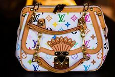792a4251bd655 LOUIS VUITTON Handtasche Gracie Monogram Multicolor weiß