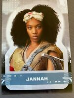 2019 Topps Star Wars Rise of the Skywalker Character Stickers CS-12 JANNAH