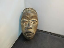 African Tribal Art Tribe Primitive Carved  Wood Mask