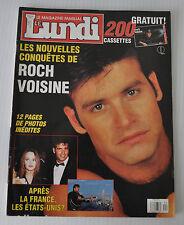 - LUNDI French Magazine Special ROCK VOISINE 1991 Quebec -