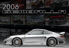 GEMBALLA 2006 CALENDAR WITH TOP PHOTOS PORSCHE 997 TURBO  AVALANCHE CAYENNE GTR