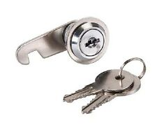 20mm CAM LOCK for Filing Cabinet Mailbox Drawer Cupboard Locker + Secure Keys