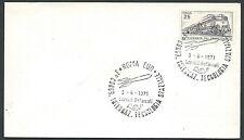 1971 ITALIA BUSTA SPECIALE ANNULLO ROMA TECNOLOGIA SPAZIALE TIMBRO ARRIVO - KI17