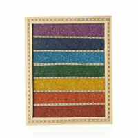Handcrafted Multi Color Gemstone Decorative Seven Chakra Box Wall Hanging