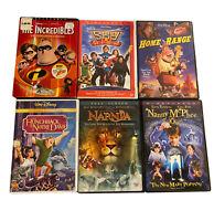 Disney Pixar DVD Sky High Incredibles Hunchback Narnia Home Range Lot of 6