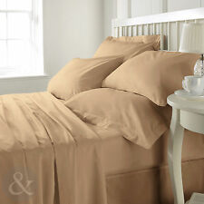 Egyptian Cotton Contemporary Bed Linens & Sets