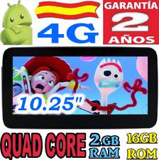 """10,25"""" ANDROID MERCEDES E W212 (2009-15) E200 E230 E260 +4G GPS COCHE RADIO NTG"""