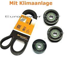 Keilrippenriemen-satz+Spannrolle MERCEDES E KLASSE W211 200/220/270/280/320 CDI