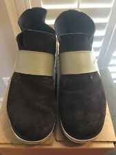 Men's Puma Sport Lifestyle Casual Sneakers Brown Suede Size 9