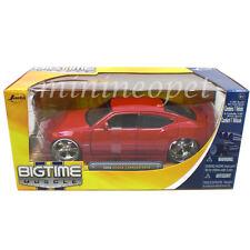 JADA BIGTIME 90796 2006 06 DODGE CHARGER SRT8 1/24 DIECAST MODEL CAR RED
