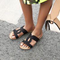 Summer Ladies Slipper Sandals Comfort Casual Beach Travel Home Mules Flats Shoe