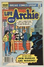 Life With Archie #249 VG+ July 1985 panda Cover and story