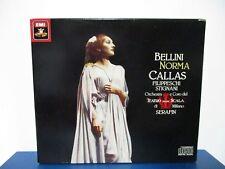 Bellini: Norma (Teatro alla Scala di Milano, 1954) Serafin - 3 CD - MINT E18-205