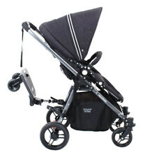 Valco Baby Rover Rider With Universal Connector and Toddler Seat- Black