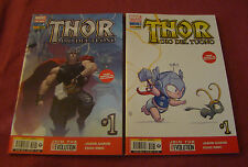 THOR 217 - MARVEL NOW # 1 COVER A + COVER B 2013
