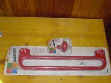 Stock: Porta asciugamani + gancio appendino colore rosso