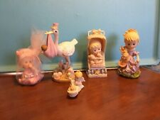 Baby Girl  Shower Theme Decoration 5 pieces items are used.
