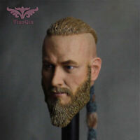 "1/6 male Viking head sculpt Travisfummer action model 12"" action figure props"
