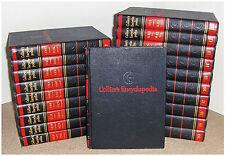 COLLIER'S ENCYCLOPEDIA SET, 1952, 20 Volumes,