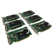 Lot of 4 - NVIDIA Quadro FX 580 512 MB GDDR3 SDRAM PCI Graphic Card & 2 - FX 570