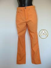 Vintage 80 SPITFIRE S 30 Pantaloni Leggeri Arancione Donna NUOVO 70 NOS Stock