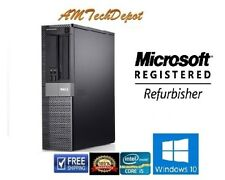 Dell Optiplex 980 Core i5 3.2 ghz 4GB Win10 Pro 64-Bit 320GB DVD Desktop