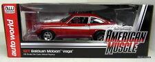Ertl 1/18 Scale - AMM1022 1971 Baldwin Motion Chevy Vega Red Diecast Model Car