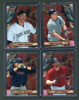 2011 BOWMANS BEST 4 CARD INSERT LOT!!!