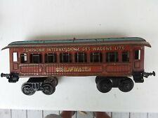 AC1804: Early Bing Gauge1 teak sided sleeping wagon