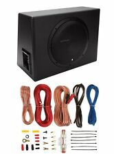 "Rockford Fosgate P300-12 12"" 300W Sealed Powered Subwoofer Sub Enclosure+Amp Kit"