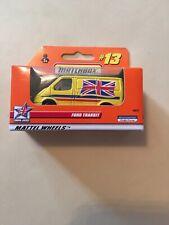 Matchbox #13 Union Jacks Yellow Ford Transit New Boxed