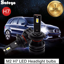 2x M2 H7 55W 12000LM LED Headlight Car Auto Vehicle Bulb Fog Lamp SUV Truck