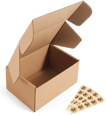 Corrugated Cardboard Shipping Boxes Small Mailer Packing Carton 6x4x3 25pcs