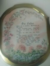 Our Father Prayer Picture In Frame Charles H Humphrey Print Home Interior